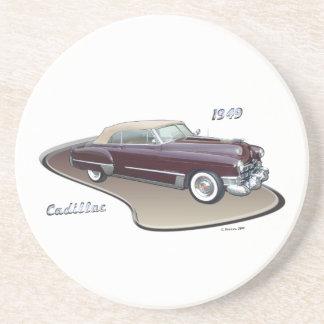 1949 CADILLAC BEVERAGE COASTER