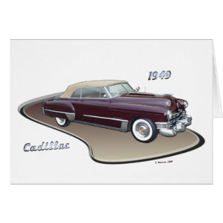 1949 CADILLAC CARD