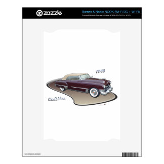 1949 CADILLAC DECALS FOR NOOK
