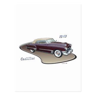 1949 CADILLAC POSTCARD