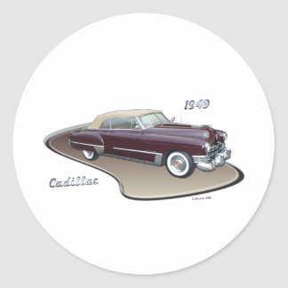1949 CADILLAC STICKERS