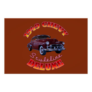 1949 Chevy Styleline Deluxe Poster