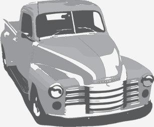 1949 chevy truck t shirts