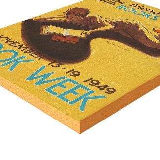 1949 Children's Book Week Canvas