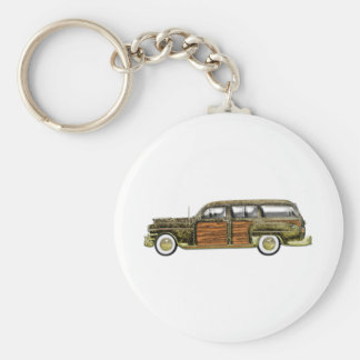 1949 Chrysler Town & Country Station Wagon Keychain