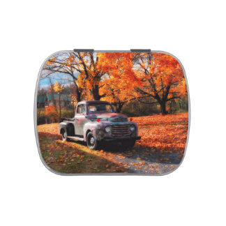 1949 Ford Pickup Truck Candy Tin