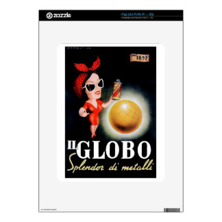 1949 Il Globo Italian Advertising Poster Decals For The iPad