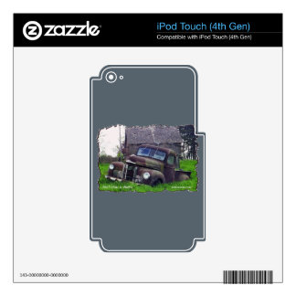 1949 International Pickup Decals For iPod Touch 4G