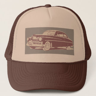 1949 Mercury retro style art on trucker cap