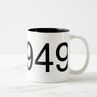 1949 Two-Tone COFFEE MUG