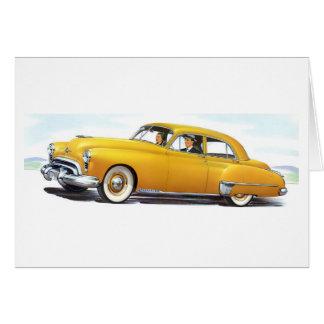 1949 Oldsmobile 98 Futuramic Greeting Cards