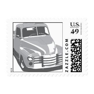 1949-truck postage stamp
