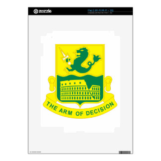 194 Armor Regiment Decal For iPad 2
