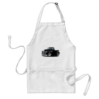 1950-52 Chevy Black Truck Adult Apron