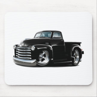 1950-52 Chevy Black Truck Mouse Pad