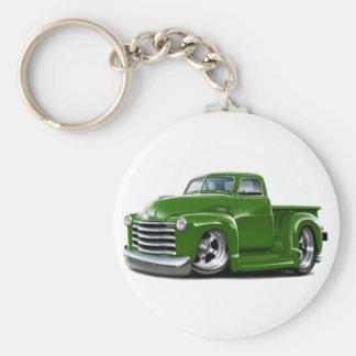 1950-52 Chevy Green Truck Key Chain