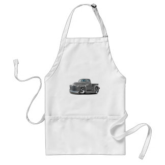 1950-52 Chevy Grey Truck Adult Apron