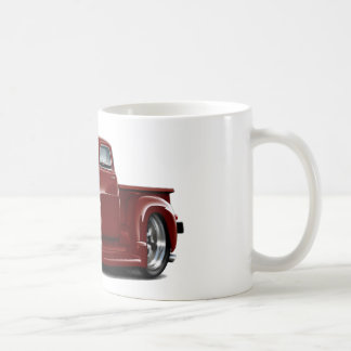 1950-52 Chevy Maroon Truck Classic White Coffee Mug