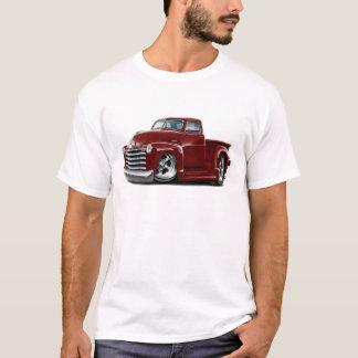 1950-52 Chevy Maroon Truck T-Shirt