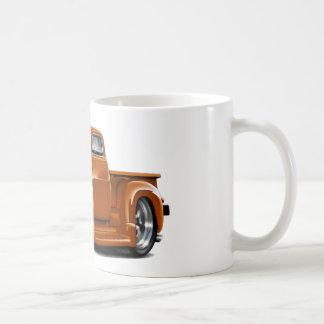 1950-52 Chevy Orange Truck Classic White Coffee Mug