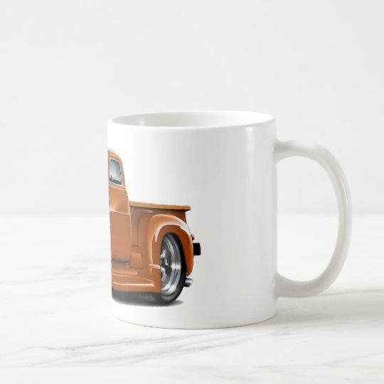 1950-52 Chevy Orange Truck Coffee Mug