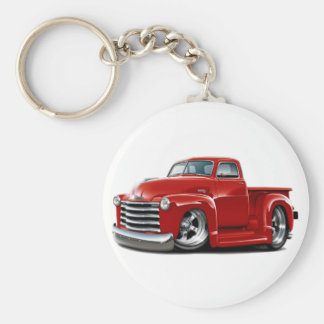 1950-52 Chevy Red Truck Key Chains