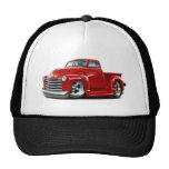 1950-52 Chevy Red Truck Trucker Hat