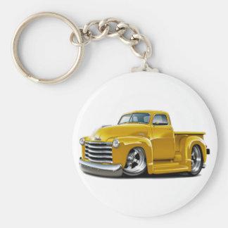 1950-52 Chevy Yellow Truck Key Chain