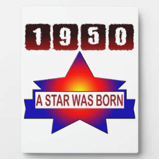 1950 A Star Was Born Plaques