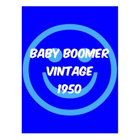 1950 baby boomer postcard