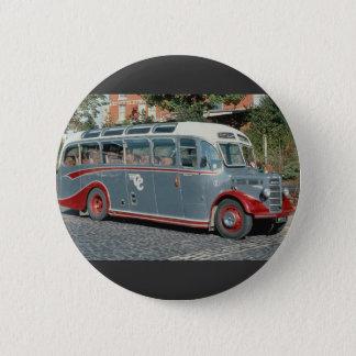 "1950 Bedford duple-bodied """"Vista"""" of Classic Coa Pinback Button"