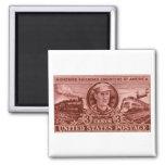 1950 Casey Jones Stamp Fridge Magnet