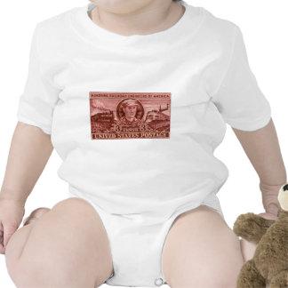 1950 Casey Jones Stamp T Shirts