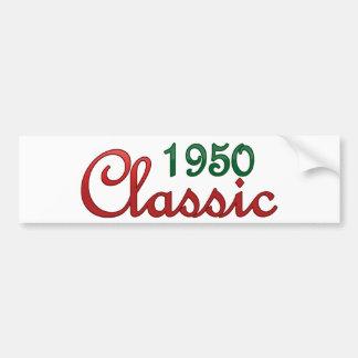 1950 Classic Bumper Sticker