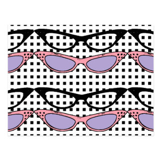 1950 Fashion Cats'-Eye Glasses Card - Customize