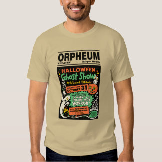 1950 Halloween Ghost Show T Shirt