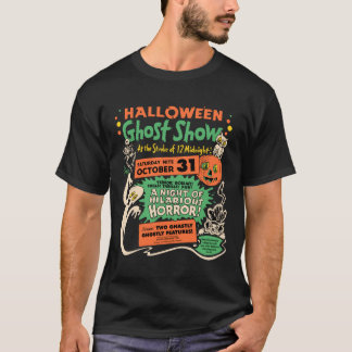 1950 Halloween Ghost Show T-Shirt