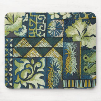 1950 Hawaiian textile Mouse Pad