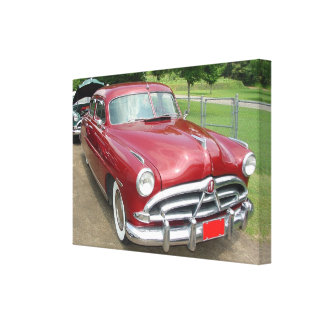 1950 Hudson Pacemaker Poster Stretched Canvas Prints
