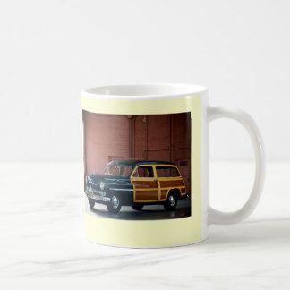 1950 Mercury Woodie Classic White Coffee Mug