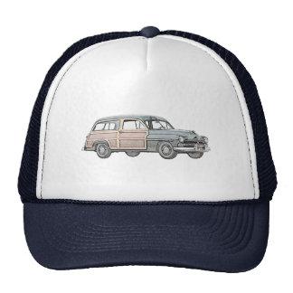 1950 Mercury Woodie Station Wagon - blue Trucker Hat