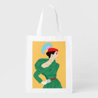 1950 Model Reusable Grocery Bag
