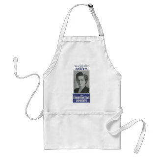 1950 Mrs Thatcher Election Poster Adult Apron