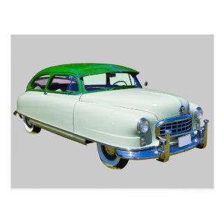 1950 Nash Ambassador Antique Car Postcard