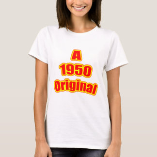 1950 Original Red T-Shirt