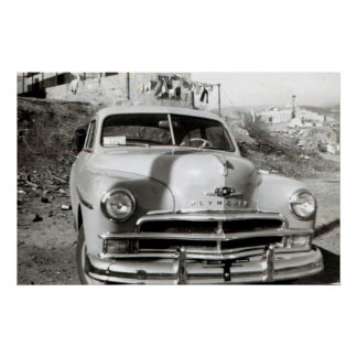 1950 Plymouth Deluxe Poster
