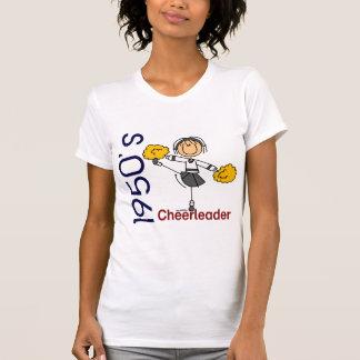1950's Cheerleader Stick Figure Shirt