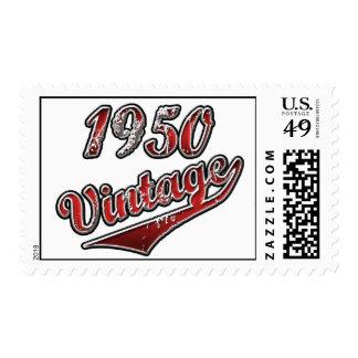 1950 Vintage Postage Stamps