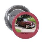 1950 Willys Button