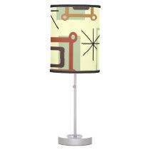 1950s Abstract Pop Art Desk Lamp